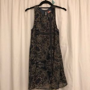 Shift dress with pattern!